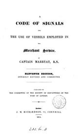 A Code of Signals for the Use of Vessels Employed in the Merchant Service