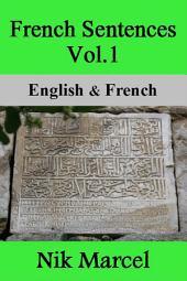 French Sentences Vol.1: English & French