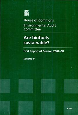 Are biofuels sustainable?