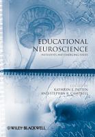 Educational Neuroscience PDF