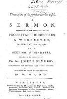 The Treasure of the Gospel in Earthen Vessels  A Sermon  Etc PDF