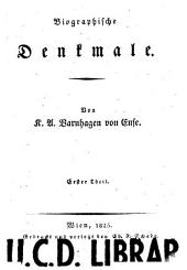 Biographische Denkmale: Bände 1-4