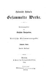 Heinrich Heine's gesammelte werke: Band 6