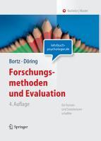 Forschungsmethoden und Evaluation f  r Human  und Sozialwissenschaftler PDF