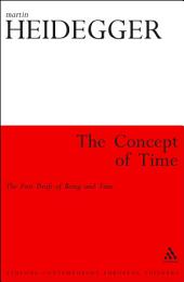 The Concept of Time: The First Draft of Being and Time
