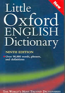 Little Oxford English Dictionary Book PDF