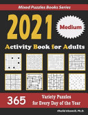 2021 Activity Book for Adults