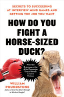 How Do You Fight a Horse Sized Duck  PDF