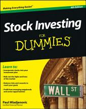 Stock Investing For Dummies: Edition 4