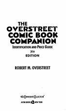 The Overstreet Comic Book Companion PDF