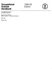 Occupational outlook handbook: Issue 2400