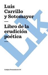 Libro de la erudición poética