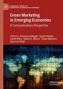 Green Marketing in Emerging Economies