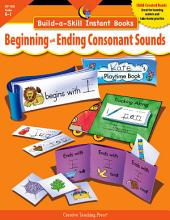 Build-a-Skill Instant Books: Beginning and Ending Consonant Sounds, eBook: Grades K-1