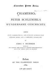 Chamisso: Peter Schlemihl's wundersame geschichte