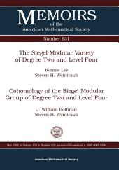 The Siegel Modular Variety of Degree Two and Level Four: Issue 631