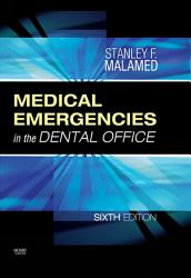 Medical Emergencies In The Dental Office E Book Book PDF