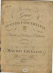Gran duetto concertante per flauto, o violino, e chitarra: op. 52