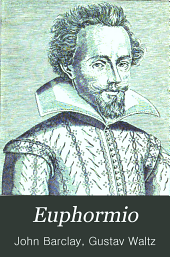 Euphormio: satirischer Roman nebst Euphrmios Selbstverteidigung und dem Spiegel des Menschlichen Geistes