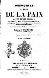 Mémoires du prince de la Paix don Manuel Godoy: Volume2