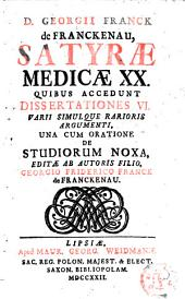 Satyrae medicae XX.