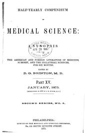 Half-yearly Compendium of Medical Science: Part 15