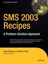 SMS 2003 Recipes