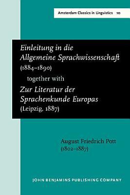 Einleitung in die Allgemeine Sprachwissenschaft  1884  1890  together withZur Literatur der Sprachenkunde Europas  Leipzig  1887  PDF