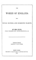 The Prose Workd of Mrs  Ellis  The women of England  The daughters of England  The wives of England  The mothers of England PDF