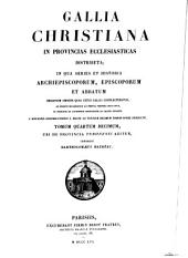 Gallia Christiana: in provincias ecclesiasticas distributa, Volume 14