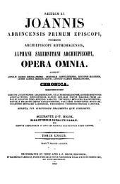 Patrologiae latina cursus completus ... series secunda: Volume 147