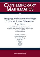 Imaging  Multi scale and High Contrast Partial Differential Equations PDF