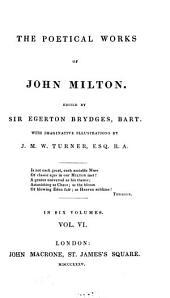 The Poetical Works of John Milton: Volume 6