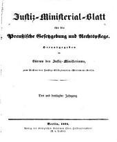Deutsche justiz: rechtspflege und rechtspolitik ... Amtliches blatt der deutschen rechtspflege, Band 33