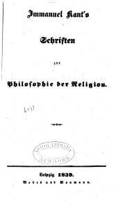 Werke: Schriften zur Philosophie der Religion