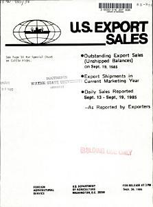 U S  Export Sales PDF