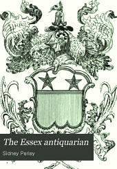 The Essex Antiquarian: Volume 5