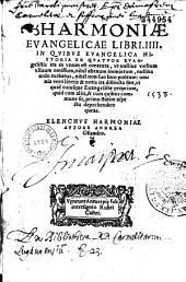 Harmoniae evangelicae libri IV