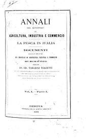 La pesca in Italia: Volume 1,Parte 1