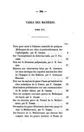 Journal de conchyliologie: comprenant lè́tude des mollusques vivants et fossiles, Volume16