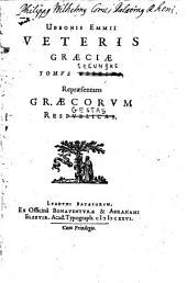 Vetus Graecia, Illustrata: Repraesentans Graecorvm Regestas, Volume 2