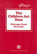 The Children Act Now PDF
