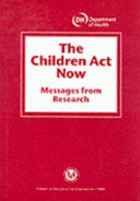 The Children Act Now Book