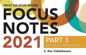 Wiley CIA Exam Review 2021 Focus Notes  Part 1 PDF
