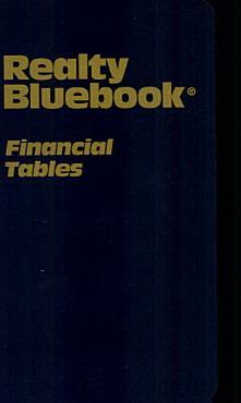 Realty Bluebook Financial Tables PDF