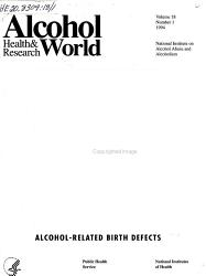 Alcohol Health and Research World PDF