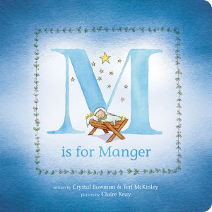 M Is for Manger Book