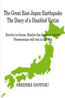 The Great East Japan Earthquake The Diary of a Disabled Victim PDF