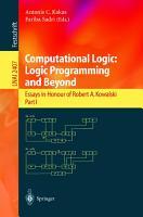 Computational Logic  Logic Programming and Beyond PDF