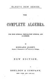 The Complete Algebra ...